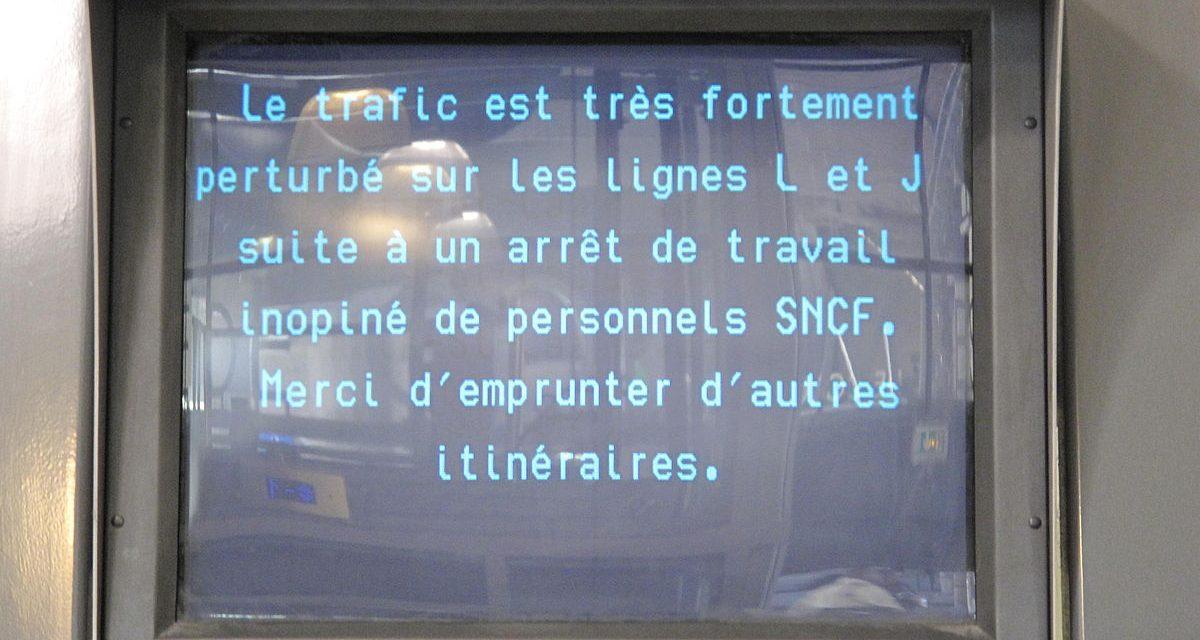La grève SNCF : prise d'otage autorisée
