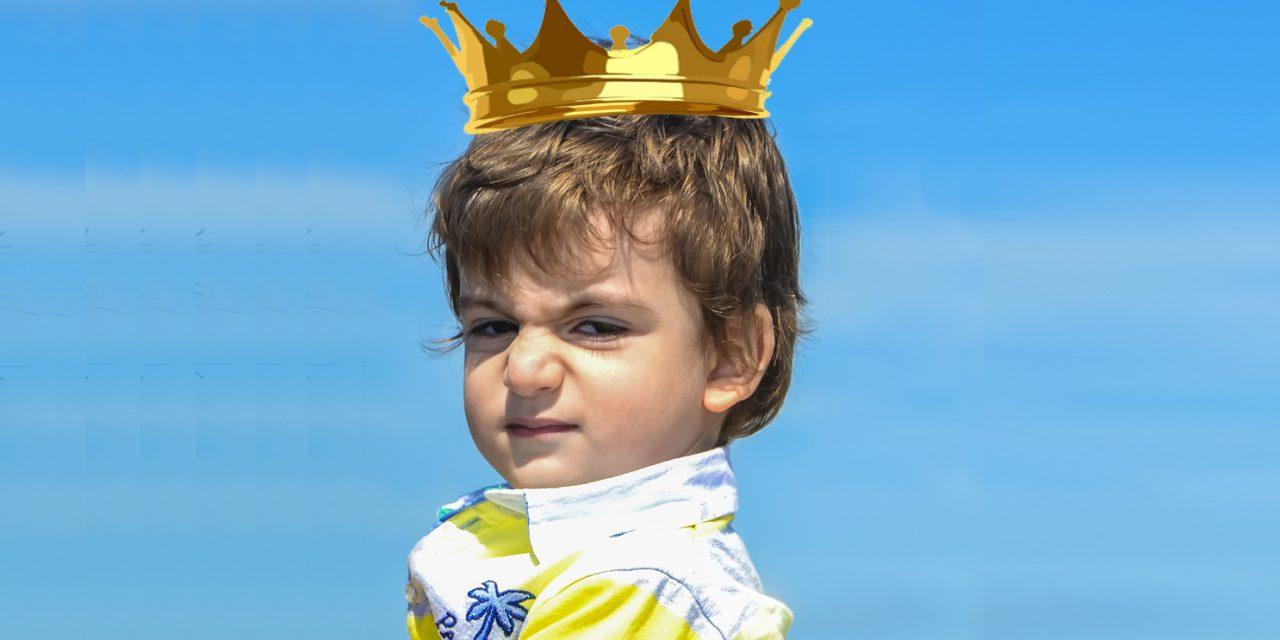 L'enfant roi, l'enfant tyran