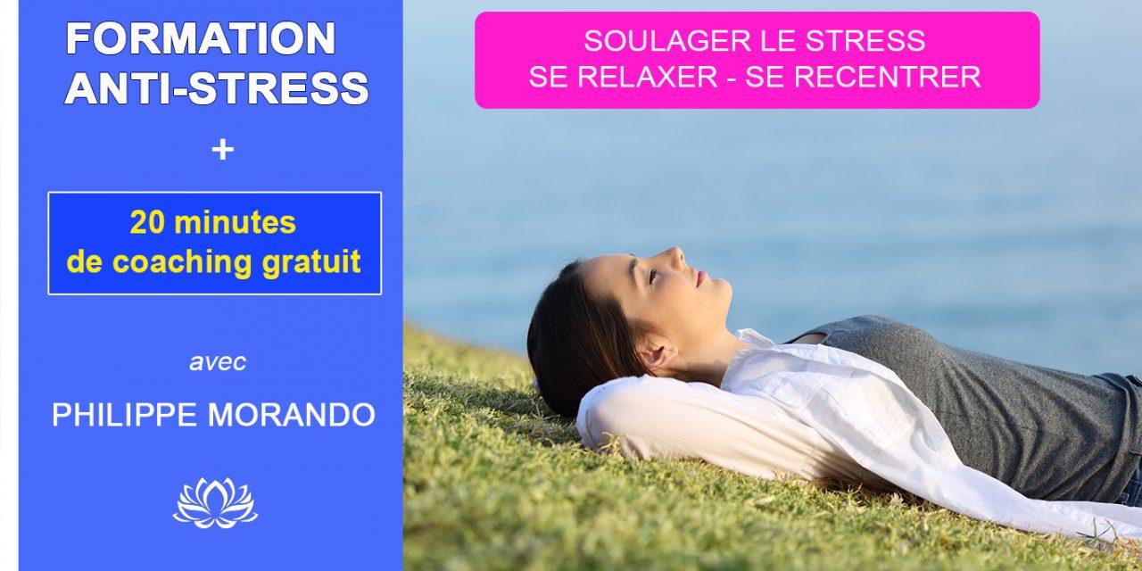 PRÉSENTATION DE LA FORMATION ANTI-STRESS