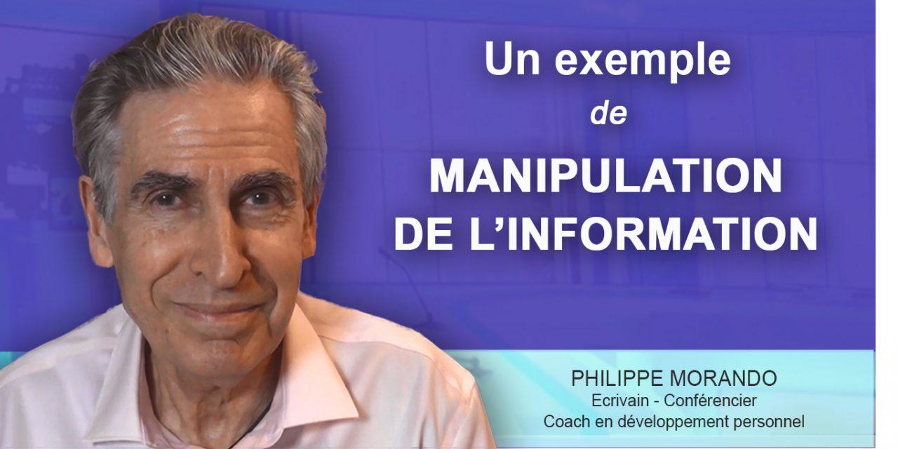 UN EXEMPLE DE MANIPULATION DE L' INFORMATION